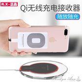 無線充電器蘋果安卓線圈手機通用萬能接收器貼片 瑪麗蓮安