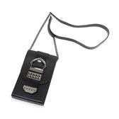 Petite Jolie  復古金屬扣飾果凍相機包-黑色