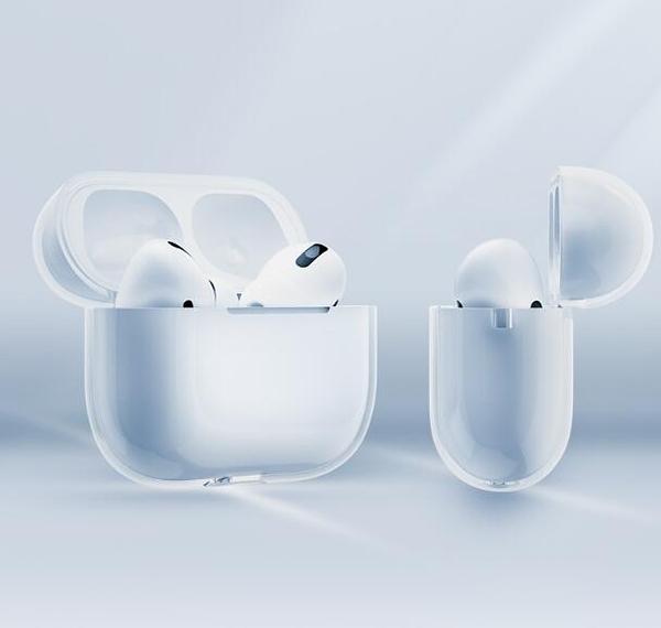 透明airPods Pro保護套耳機殼AirPodspro3蘋果液態矽膠pro無線藍芽盒 新年特惠