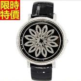 鑽錶-個性時尚潮流女腕錶3色5j119【巴黎精品】