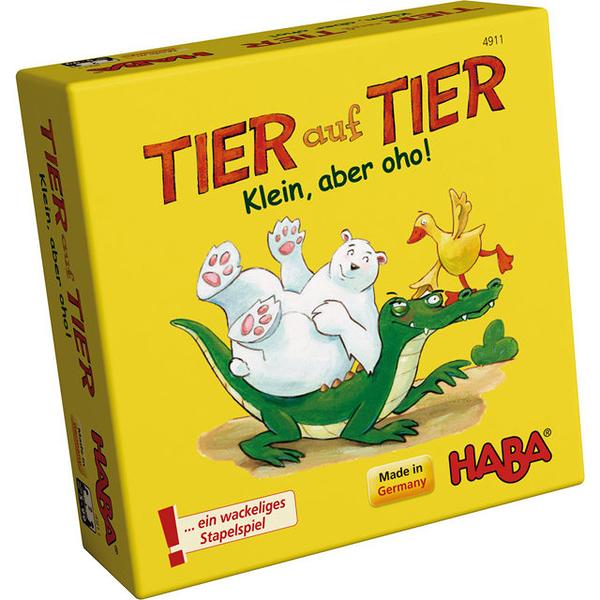 【HABA】動物疊疊樂:愈小愈可愛 Tier auf Tier 桌上遊戲
