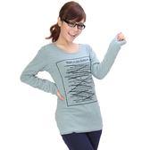 T恤【041】FEELNET中大尺碼女裝春裝百搭長袖上衣38碼