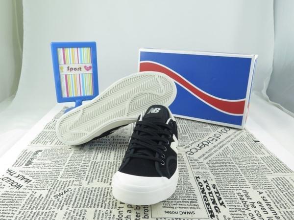 【iSport愛運動】New Balance復古滑板鞋 PROCTSBE 男女款 黑