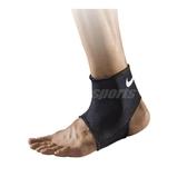 Nike 護踝套 Pro Ankle Sleeve AP 男女款 腳踝護套 護具 籃球 跑步 運動 訓練 黑 白【PUMP306】 NMS54-010