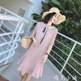 很仙的法國小眾雪紡連衣裙洋裝2019新款夏甜美裙子仙女超仙森系桔梗裙  晴光小語