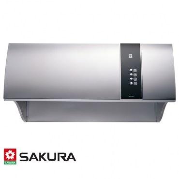 櫻花 SAKURA 健康取向深罩除油煙機 W80CM R-3550L(SL) [不鏽鋼]