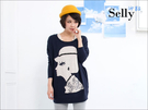 Selly * 沙粒 * 韓版鴿子 氣質公主的手工串珠針織衫 * 現貨