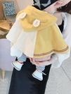 嬰兒防風斗篷9秋裝棉質3男外出5披風6三個月2寶寶外套1女秋季【低至82折】