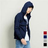 【101原創】台灣設計.素色刷毛連帽外套(男)-共4色