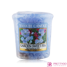 YANKEE CANDLE香氛蠟燭-豆豆花園 Garden Sweet Pea(49g)【美麗購】