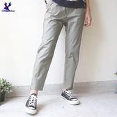 American Bluedeer-褲口拉鏈長褲 春夏新款