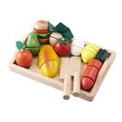 日本 Ed-Inter 木玩系列-蔬果總匯托盤組|家家酒