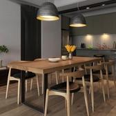 餐桌 北歐實木餐桌椅組合家用小戶型現代簡約客廳吃飯桌子辦桌電腦書桌【【八折搶購】】