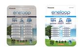 (公司貨) 日本製 Panasonic eneloop 可充2100次 低自放電電池,10顆裝贈電池盒X2