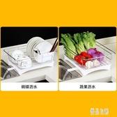 家用不銹鋼瀝水架碗碟筷洗碗池瀝水籃廚房盤子收納盒濾水碗籃晾放碗架CY2203【優品良鋪】