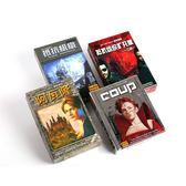 阿瓦隆桌遊卡牌抵抗組織2升級版政變繁體中文版桌面游戲玩具 店家有好貨