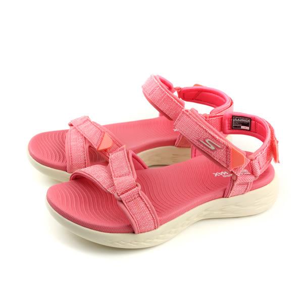SKECHERS ON-THE-GO 600 涼鞋 女鞋 粉紅色 15315PNK no831