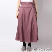❖ Winter ❖ 荷葉摺邊不對稱層次剪裁喇叭長裙 (提醒➯SM2僅單一尺寸) - Sm2