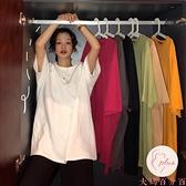 短袖上衣女大碼顯瘦時尚t恤女夏季寬松韓版【大碼百分百】