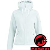 【MAMMUT 長毛象】女 Arctic ML 保暖連帽外套『白謠曲』1014-15703 戶外 露營 登山 保暖 禦寒 防風