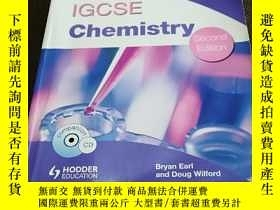 二手書博民逛書店IGCSE罕見Chemisty(Second Edition)(endorsed by Cambridge Int