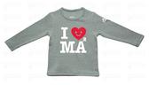 GOOMI【I Love MAMA 】長袖T恤 男女童適穿1~6歲