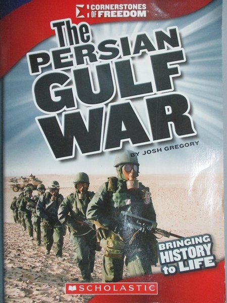 【書寶二手書T4/兒童文學_JLQ】The Persian Gulf War_Gregory, Josh