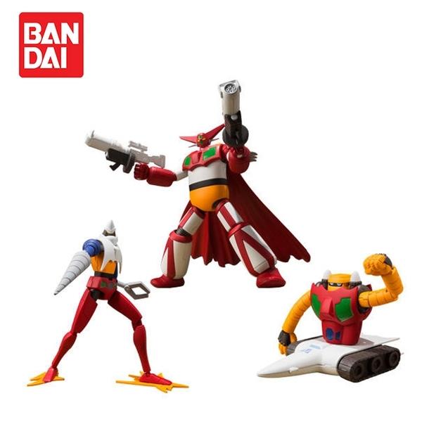盒裝3款【日本正版】真蓋特機器人 世界最後之日 Vol.1 盒玩 模型 SUPER MINIPLA - 224488