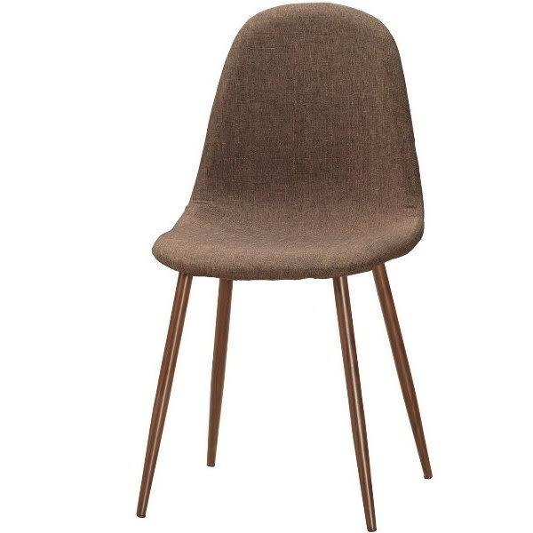 餐椅 MK-518-14 妮莉餐椅(棕色布)【大眾家居舘】