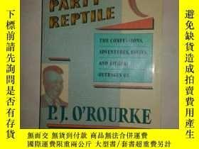 二手書博民逛書店REPUBLICAN罕見PARTY REPTILE【684】Y1