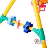 Toyroyal日本皇室嬰兒健身架男女孩0-1歲兒童寶寶音樂健身器玩具 XW