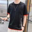 【精選新品任搭2件$499】純棉短袖T恤簡約設計T恤時尚男款