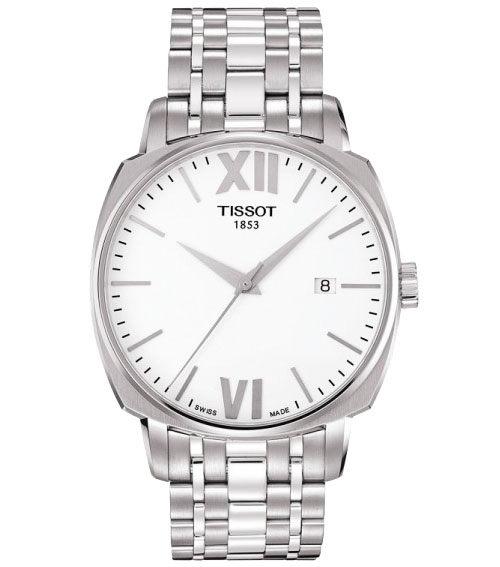 TISSOT 天梭 T-Lord 都會紳士機械手錶-銀/40mm T0595071101800