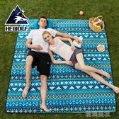 春遊野餐墊防潮墊戶外野炊布沙灘帳篷地墊防水草坪墊子加厚野餐布YYP 琉璃美衣