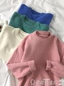 毛衣 毛衣毛衣女外穿春秋韓版2020新款寬鬆慵懶風套頭圓領針織衫外套長袖潮 爾碩 雙11