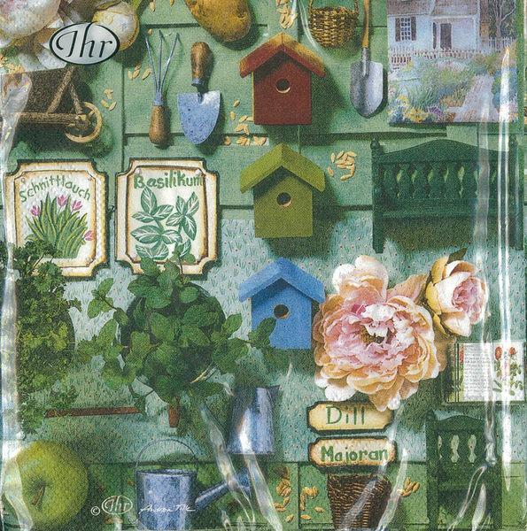 新貨到!花園小物-德國 IHR 餐巾紙(33x33cm)