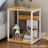 床頭櫃現代簡約迷你收納儲物櫃臥室床邊櫃北歐式現代小櫃子 莫妮卡小屋 IGO
