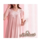 【南紡購物中心】【ROSEMAID】Rayon系列短袖洋裝(粉紅色)