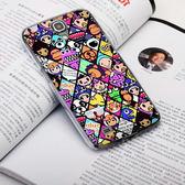 Samsung Galaxy J N075T 手機殼 軟殼 保護套 潮流格子 C