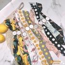 夏季休閑綁帶手表女學生韓版簡約潮流百搭日系少女小清新布帶腕表【小獅子】