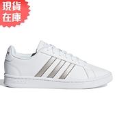 【現貨】ADIDAS GRAND COURT 女鞋 休閒 復古 皮革 白【運動世界】F36485