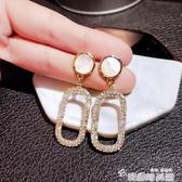 網紅耳釘女純銀氣質韓版設計感耳環2020新款潮小眾耳夾冷淡風耳飾 韓國時尚週