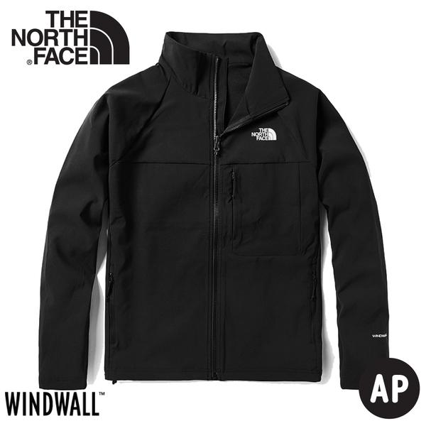 【The North Face 女 防風防潑水立領可套接外套《黑》】49ET/衝鋒衣/風雨衣/夾克