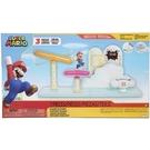 《 任天堂 》超級瑪利歐 2.5吋棉花糖雲海豪華組 / JOYBUS玩具百貨