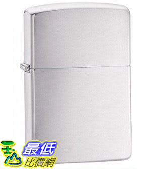 [美國直購 ShopUSA] Zippo Brushed Chrome Pocket Lighter 200