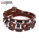 [Z-MO鈦鋼屋]優質皮手環/皮帶設計/經典復古造型/中性皮手環推薦/單條價【CKAL1044】