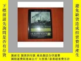 二手書博民逛書店HUMAN罕見SOCIETIES 精裝22680 出版1987