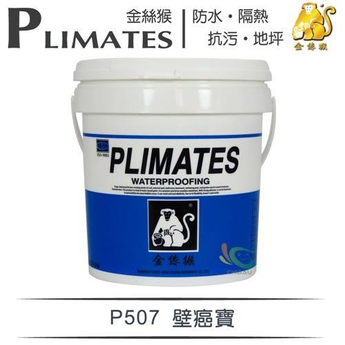 【漆寶】金絲猴│壁癌寶P-507(1加侖裝)