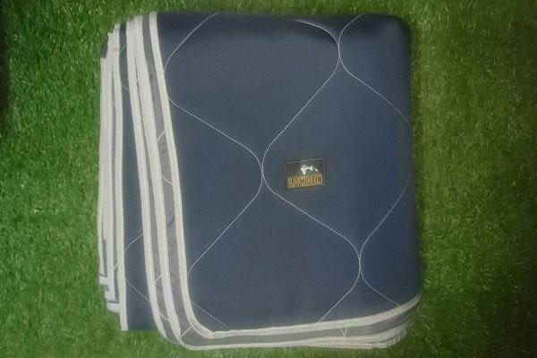 LOWDEN 露營戶外用品  270*270-全鋪棉防波水地墊 附收納袋 露營(帳內用)地墊