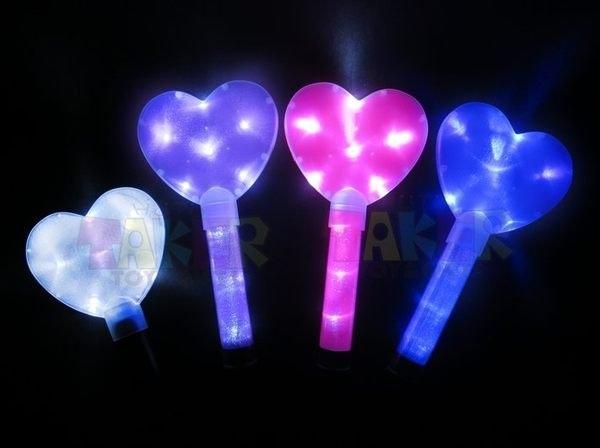 LED 五角星 螢光棒 (愛心) 求婚 電子 閃光棒 交管棒 小巨蛋 演唱會 後援會 LED燈 舞會【塔克】